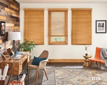 Rèm sáo gỗ hiện đại cho căn hộ
