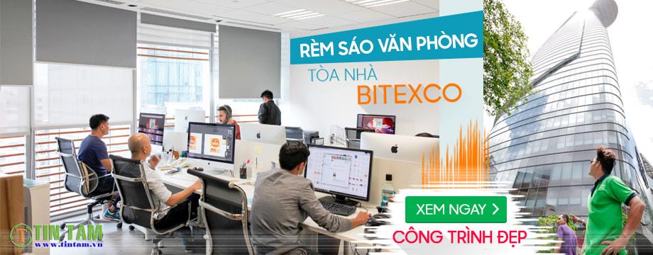 Công trình màn sáo văn phòng tòa nhà Bitexco quận 1