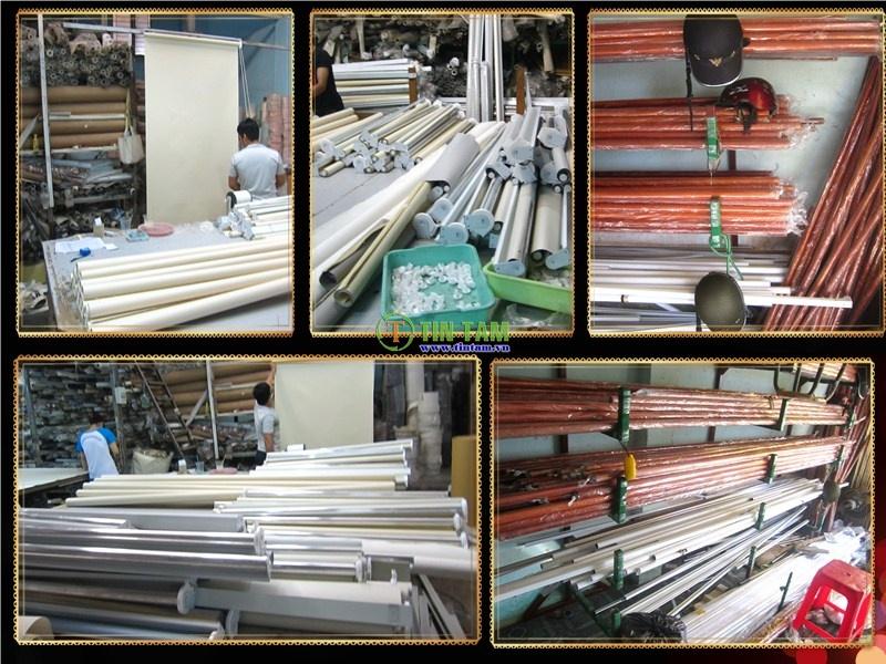 xưởng sản xuất màn sáo